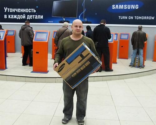 Приз победителю – суперсовременный монитор SAMSUNG.