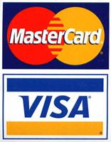 MasterCard, VISA