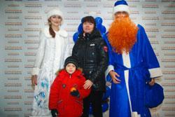 По следам Рыжего Деда Мороза
