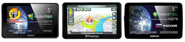 Новинки GPS-навигации от Explay и PRESTIGIO
